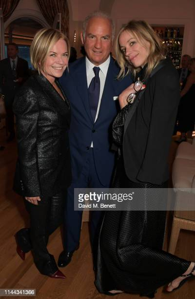 Mariella Frostrup CEO of Finch Partners Charles Finch and Kate Driver attend the 10th Annual Filmmakers Dinner hosted by Charles Finch Edward...