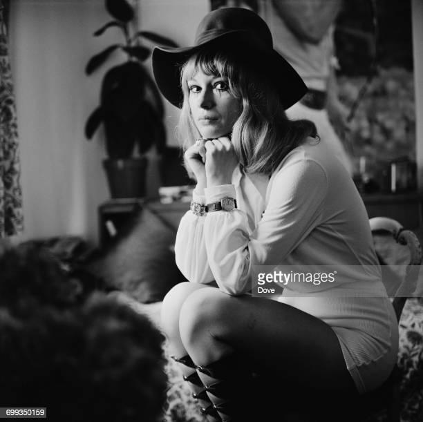 Mariella Novotny a former prostitute turned writer UK 9th September 1971