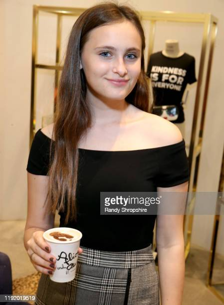 Mariella Rickel attends Shop To Erase MS presented by Stacey Bendet to benefit Race To Erase MS at Alice Olivia Boutique on December 04 2019 in...