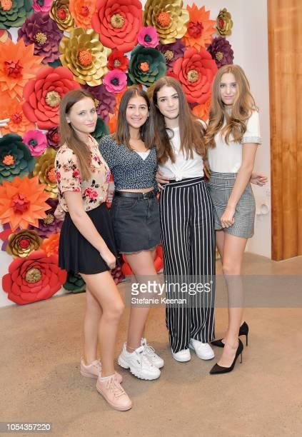Mariella Rickel Daisy Swirsky Avery Weingarten and Isabella Rickel attend Nancy Davis Kathy Hilton Paris Hilton Nicky Rothschild and Tessa Hilton...