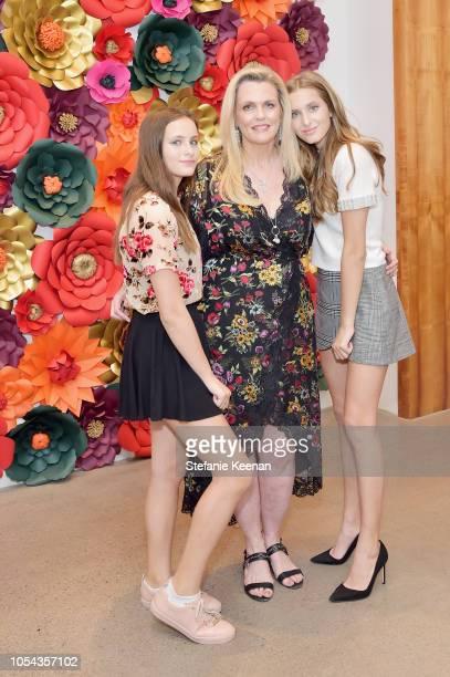 Mariella Rickel Nancy Davis and Isabella Rickel attend Nancy Davis Kathy Hilton Paris Hilton Nicky Rothschild and Tessa Hilton host Alice Olivia x...