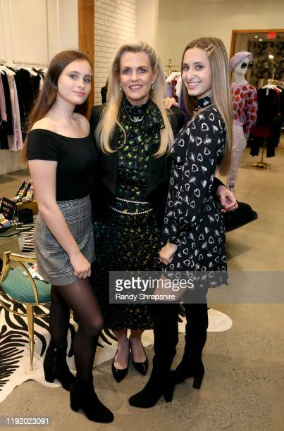 Mariella Rickel Nancy Davis and Isabella Rickel attend Shop To Erase MS presented by Stacey Bendet to benefit Race To Erase MS at Alice Olivia...