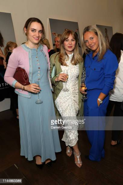 Mariella Tandy Alice Edwards and Tanya Philipson attend the Outnet's 10th Anniversary Dinner on April 24 2019 in London England
