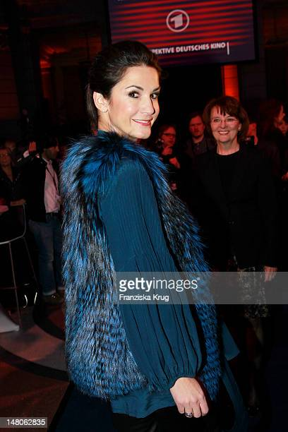 Mariella von FaberCastell attends 'ARD Degeto Blue Hour' Party in the Museum of communication in Berlin on February 11 2012 in Berlin Germany