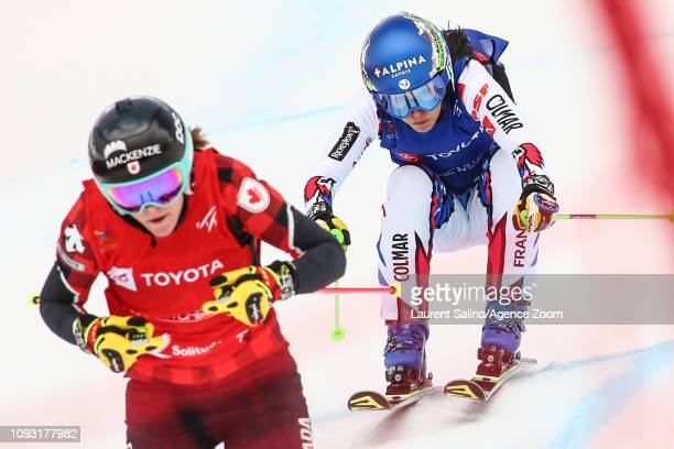 Marielle Berger Sabbatel of France competes during the FIS World Freestyle Ski Championships Men's and Women's Ski Cross on February 2 2019 in Park...
