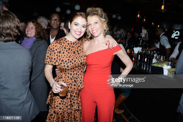 Marielle Heller and Maddie Corman attend New York Special Screening Of A Beautiful Day In The Neighborhood After Party at Le District Restaurant on...