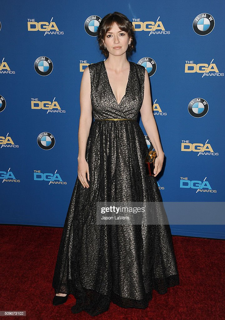 Marielle Heller attends the 68th annual Directors Guild of America Awards at the Hyatt Regency Century Plaza on February 6, 2016 in Los Angeles, California.