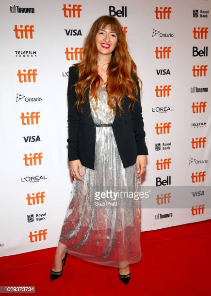 Marielle Heller attends the Can You Ever Forgive Me premiere during 2018 Toronto International Film Festival at Winter Garden Theatre on September 8...