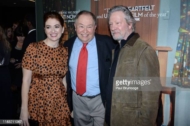 Marielle Heller David Newell and Chris Cooper attend New York Special Screening Of A Beautiful Day In The Neighborhood at Henry R Luce Auditorium at...