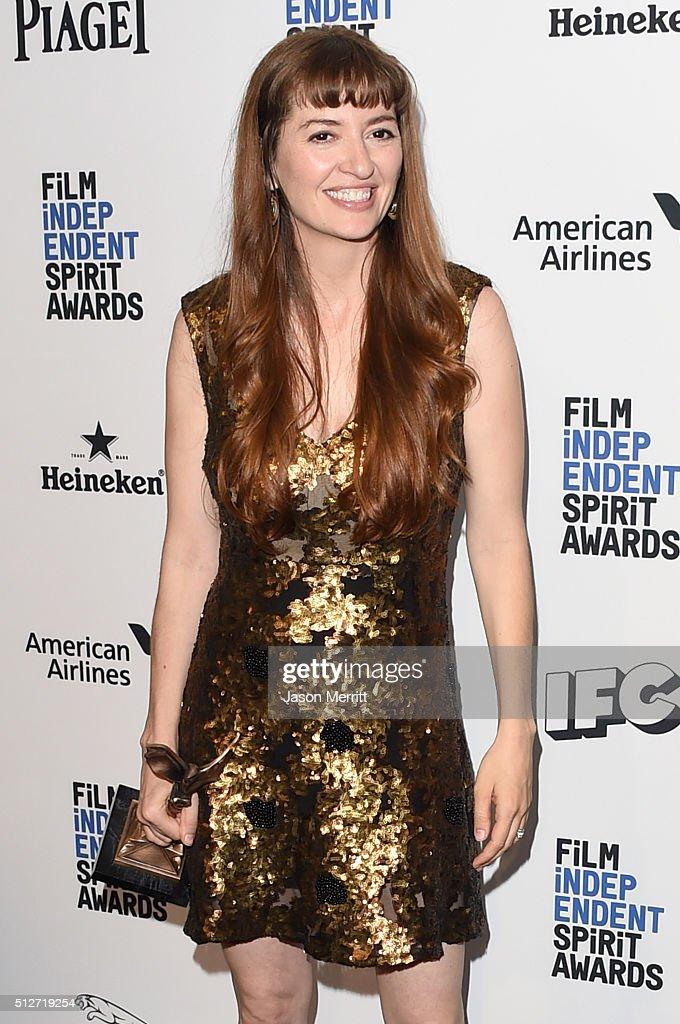 2016 Film Independent Spirit Awards - Press Room : News Photo