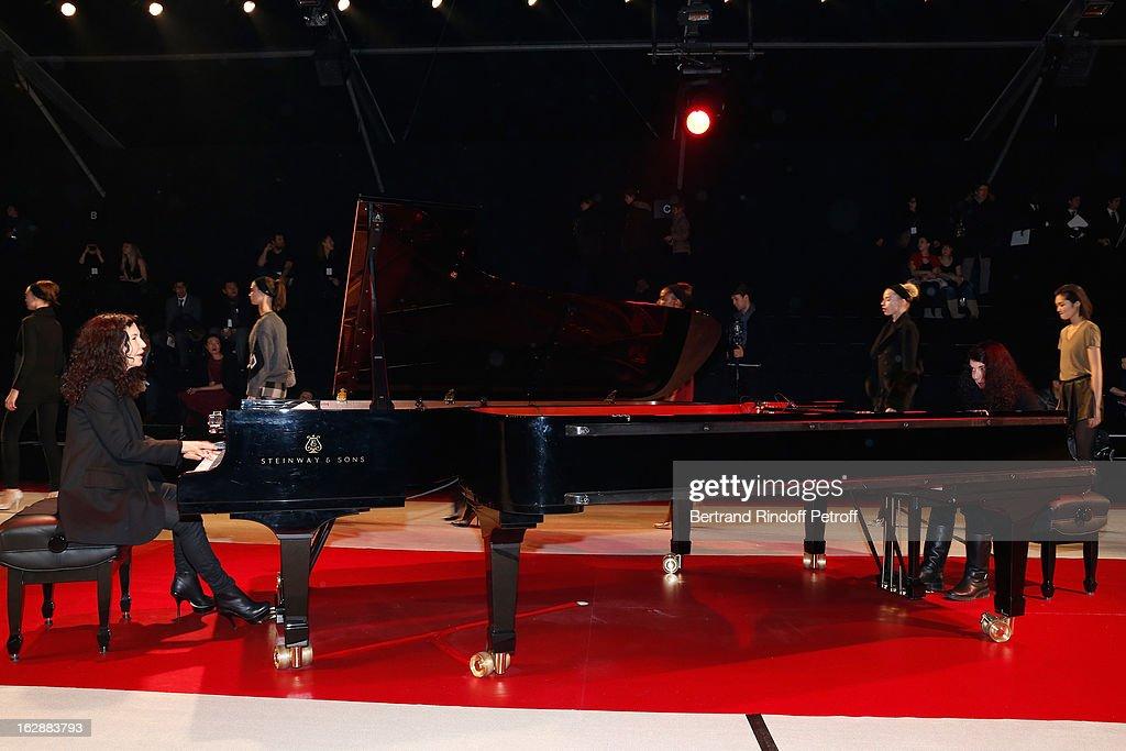 Nina Ricci- Front Row - PFW F/W 2013