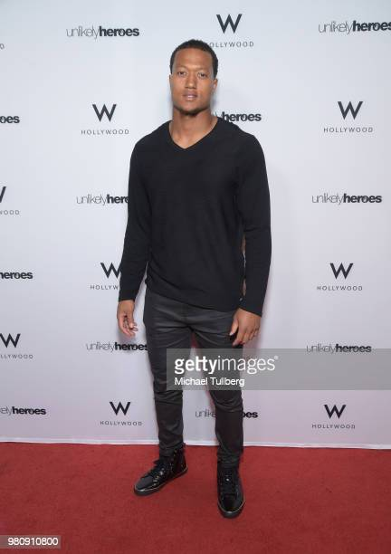 Marielle McKamy attends 'Nights Of Freedom LA' hosted by Unlikely Heroes at W Hollywood on June 21 2018 in Hollywood California