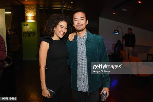 Marielle Scott and Jordan Rodrigues attend the Film Independent hosts Directors CloseUp Screening of 'Lady Bird' at Landmark Theatre on February 7...