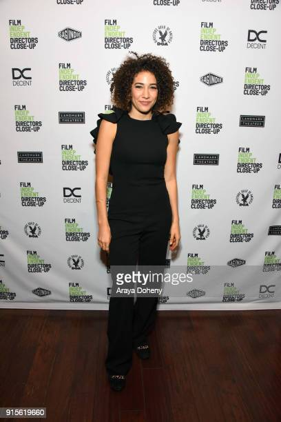 Marielle Scott attends the Film Independent hosts Directors CloseUp Screening of 'Lady Bird' at Landmark Theatre on February 7 2018 in Los Angeles...