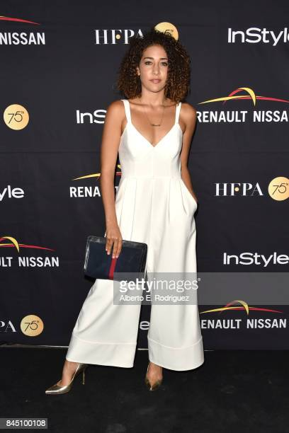Marielle Scott attends the HFPA InStyle annual celebration of 2017 Toronto International Film Festival at Windsor Arms Hotel on September 9 2017 in...