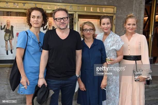 MarieLou Sellem Samuel Finzi Anna Boettcher Alexa Maria Surholt and Judith Hoersch attend the 'Back for Good' premiere on May 31 2018 in Berlin...