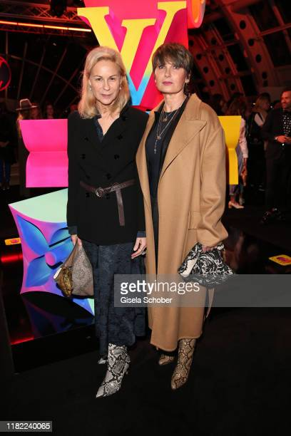 MarieLouise Berg and Anja Schwing during the Louis Vuitton Store opening at KaDeWe on November 12 2019 in Berlin Germany