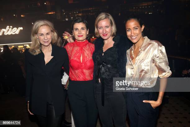 MarieLouise Berg Anja Schwing Stephanie Fresle and Rabea Schif attend the 'When the Ordinary becomes Precious #CartierParty Berlin' at Old Power...