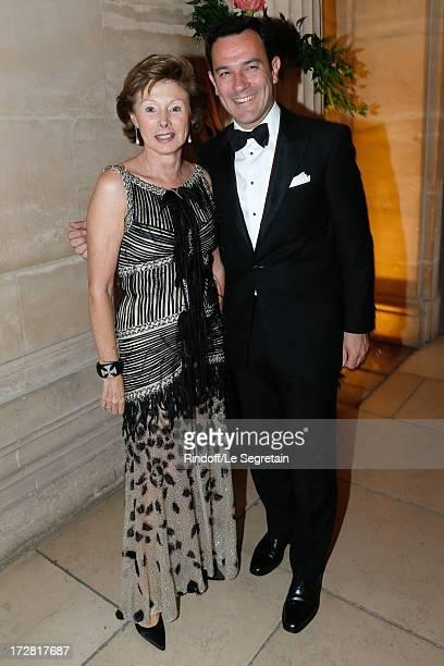 MarieLouise de Clermont Tonnerre and Olivier Josse attend Le Grand Bal De La Comedie Francaise held at La Comedie Francaise on July 4 2013 in Paris...
