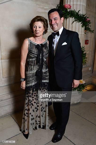MarieLouise de Clermont Tonnerre and Olivier Josse attend the Le Grand Bal De La Comedie Francaise at La Comedie Francaise on July 4 2013 in Paris...