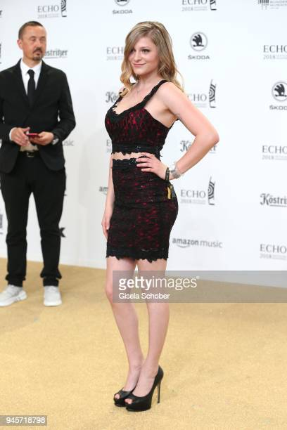 MarieLouise Reim arrives for the Echo Award at Messe Berlin on April 12 2018 in Berlin Germany