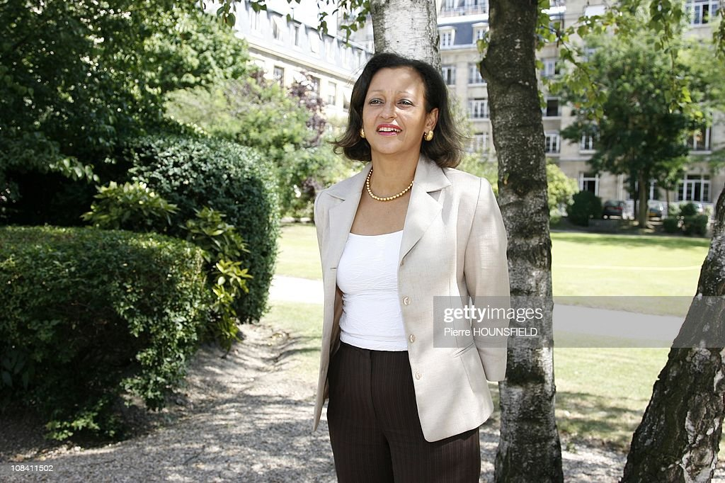 Marie Luce Penchard, Junior Minister in charge of Overseas territories in Paris, France on July 03rd, 2009. : ニュース写真