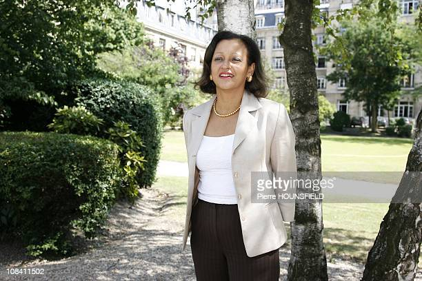 Marie-Luce Penchard, Junior Minister in charge of Overseas territories in Paris, France on July 03rd, 2009.