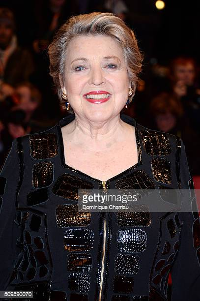 MarieLuise Marjan attends the 'Hail Caesar' premiere during the 66th Berlinale International Film Festival Berlin at Berlinale Palace on February 11...