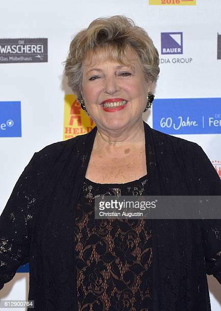 MarieLuise Marjan attends the 'Helden des Alltags' Gala at Theater Kehrwieder on October 5 2016 in Hamburg Germany