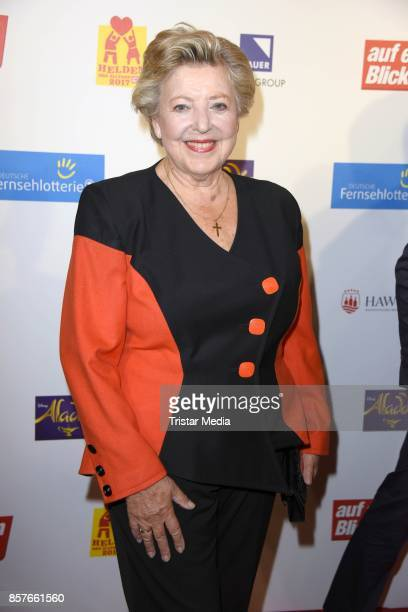 MarieLuise Marjan attends the 'Helden des Alltags' Gala at Theater Kehrwieder on October 4 2017 in Hamburg Germany