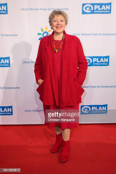 MarieLuise Marjan attends the Ulrich Wickert and Peter SchollLatour award at Bar jeder Vernunft on September 27 2018 in Berlin Germany