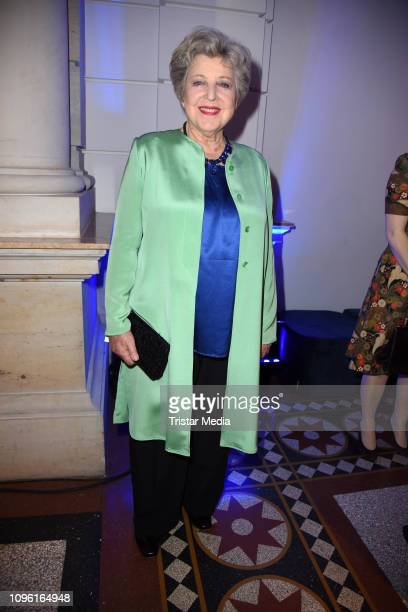 MarieLuise Marjan during the Blue Hour Party hosted by ARD during the 69th Berlinale International Film Festival at Haus der Kommunikation on...