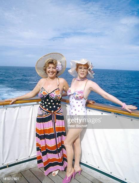 MarieLuise Marjan Elisabeth Volkmann ZDFReihe Traumschiff Folge 12 Episode 1 Nachbarn MS A s t o r auf dem Weg nach Rio de...