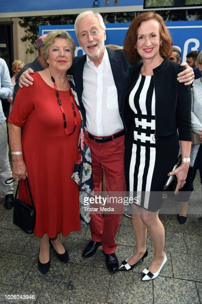 MarieLuise Marjan Joachim Herrmann Luger and Irene Fischer during the 'Lindenstrasse live in Concert the TV show meets WDR Funkhausorchester' event...