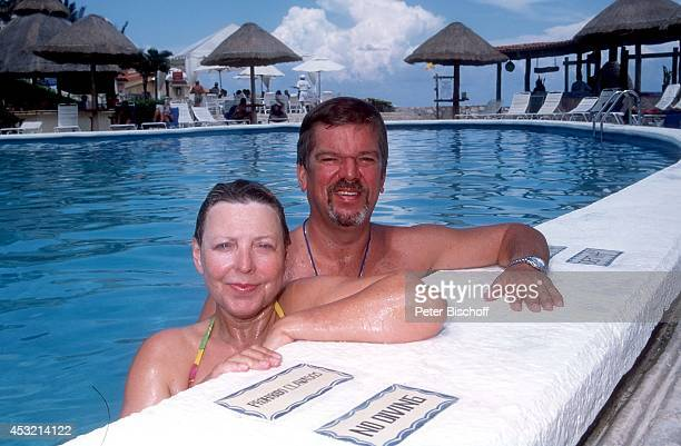 MarieLuise Marjan Lebensgefährte Bodo Bressler Hotel 'Hyatt Cancun Caribe' am in Cancun Mexico
