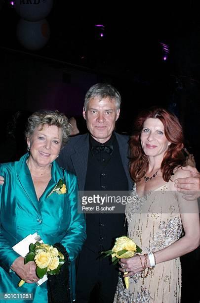 MarieLuise Marjan Rüdiger Joswig Ehefrau Claudia Wenzel AftershowParty nach Sat1Gala Deutscher Fernsehpreis 2005 Köln Deutschland PNr 1246/2005...