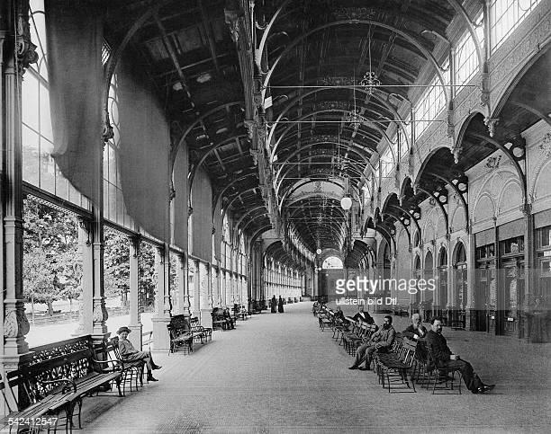 Marienbad Kolonnaden 1897Foto Stengel Co