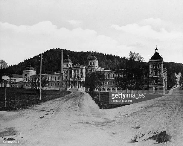 Marienbad Neubad 1898Foto Stengel Co