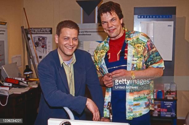Marienhof, Fernsehserie, Deutschland 1992 - 2011, Darsteller: Michael Jäger , Wolfgang Seidenberg