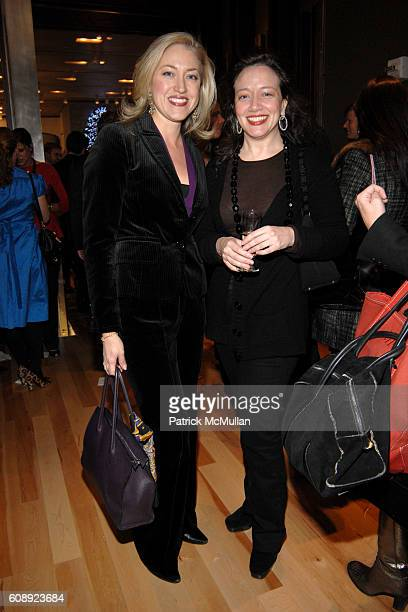 MarieNoelle Pierce and Ginna Carter attend PETRA NEMCOVA QUEST Magazine and FORTUNOFF Celebrate the Grand Opening of FORTUNOFF ON 57TH STREET To...