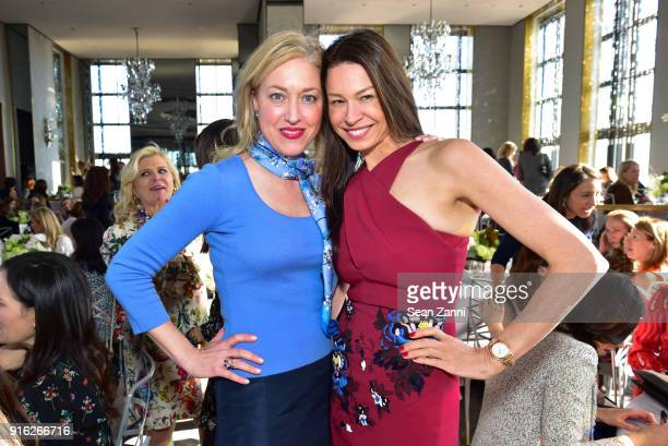 MarieNoelle Pierce and Paige Boller attend Central Park Conservancy's 5th Annual Playground Partners Winter Luncheon at The Rainbow Room on January...