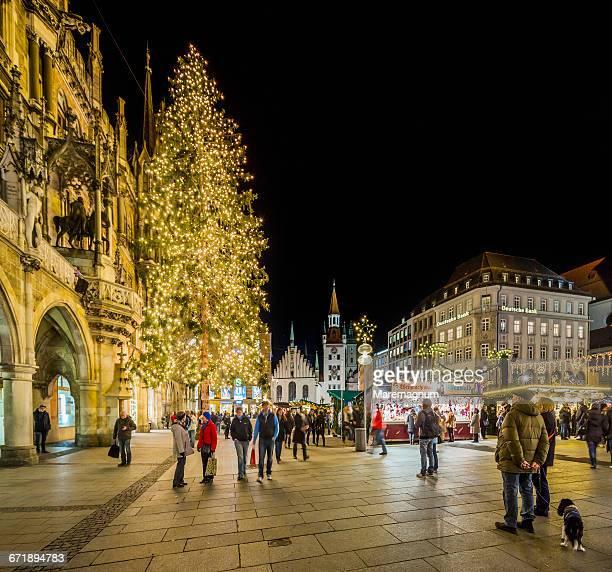 Marienplatz (square), the Christmas market