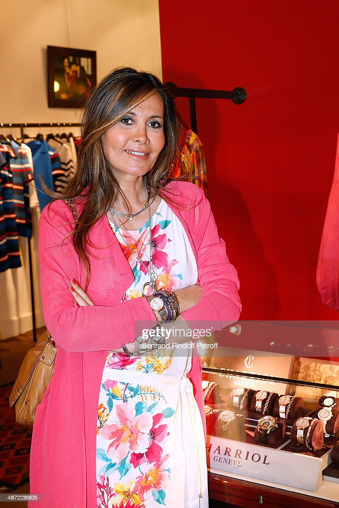 Marie-Olga Charriol attends the 'Charriol': Ephemeral Boutique opening hosted by Nathalie Garcon at Nathalie Garcon store, Galerie Vivienne on April 28, 2014 in Paris, France.