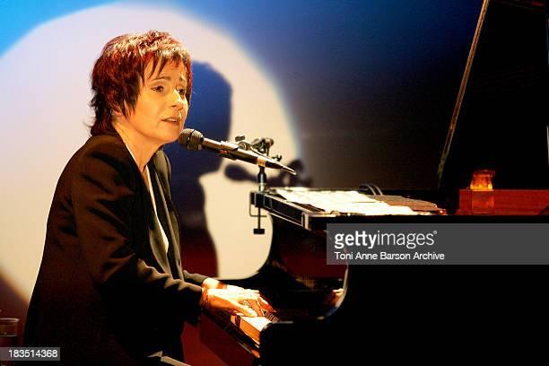 MariePaule Belle during MariePaule Belle in Concert December 14 2004 at Theatre de Dix Heures in Paris France