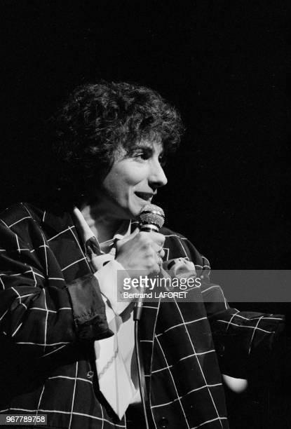 MariePaule Belle en concert au Théâtre des Variétés à Paris le 29 septembre 1980 France