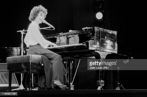 MariePaule Belle en concert à l'Olympia de Paris le 4 octobre 1978 France