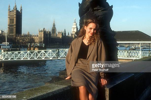 MarieTherese Relin Privat am Rande der Dreharbeiten zum Kinofilm 'Secret Places' am in London England