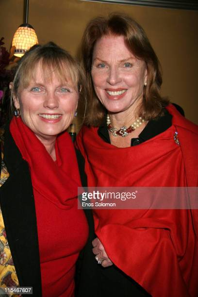 Mariette Hartley and Tess Harper during There Used To Be Fireflies Opening Night January 20 2007 at Play Opening in Los Angeles California United...