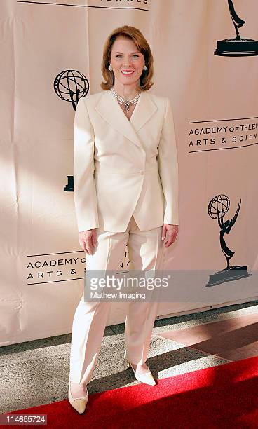 Mariette Hartley during 57th Annual Los Angeles Area Emmy Awards Arrivals Reception at Leonard H Goldenson Theatre in North Hollywood California...