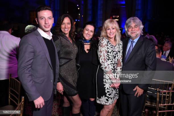 Mariette Warner Laura Heatherly Charlie Rosenzweig and guests attend The TJ Martell Foundation 43rd New York Honors Gala at Cipriani 42nd Street on...